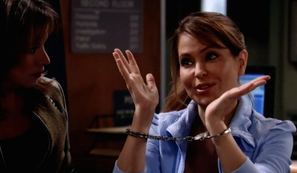 """Olivia gets """"busted"""""""