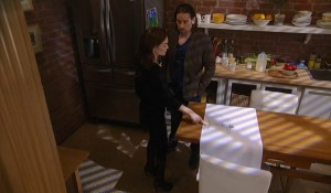 Liz and Franco find Jake's drawing-ABC