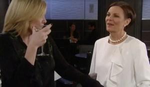 Tracy-Ava-drinking-GH-ABC