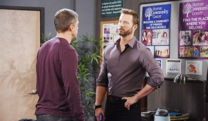 "Eric Martsolf, Greg Vaughan ""Days of our Lives"" Set NBC Studios Burbank 09/21/16 © XJjohnson/jpistudios.com 310-657-9661 Episode # 13052 U.S.Airdate 03/23/17"
