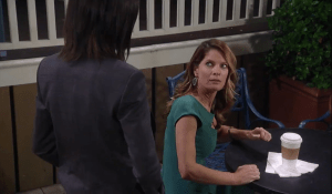 Anna pressures Nina for information-GH_ABC