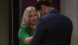 Amy fusses over Nathan-GH-ABC