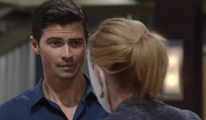 Ava tries to wave Griffin off-GH-ABC