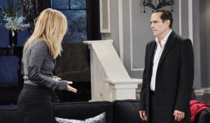 Carly tells Sonny about her suspicions-GH-JJ