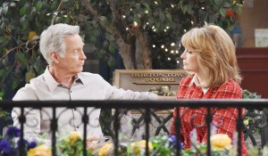 John and marlena plan their wedding