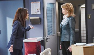 hope blames marlena for ben setting fire