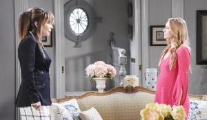 kate tells abby to dump chad