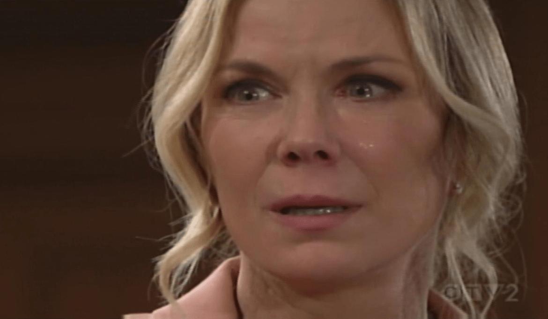 Brooke lacrime di panico Bold and Beautiful