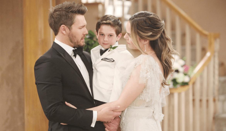 Lia, Douglas, Hope al matrimonio Bold and Beautiful