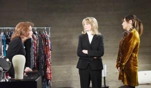 Marlena, vivian, kate argue about stefan