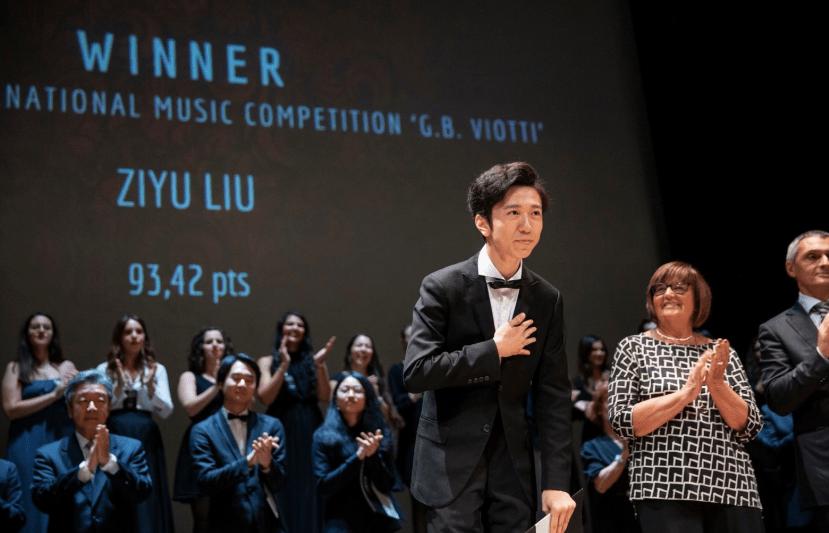 70° Concorso Viotti: la vittoria va a Zyiu Liu, 21 anni di Pechino.