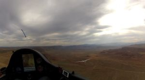 B4 and TT racing over the southern Utah desert