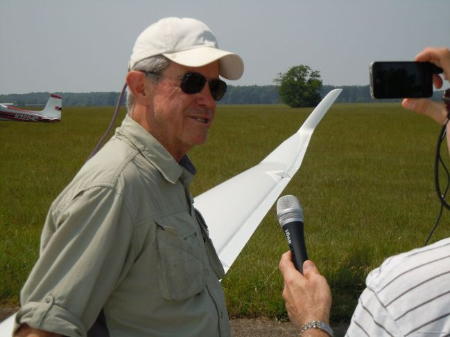 2012-05-25 - Concordia First Flight - Rand interviewing Dick after second flight