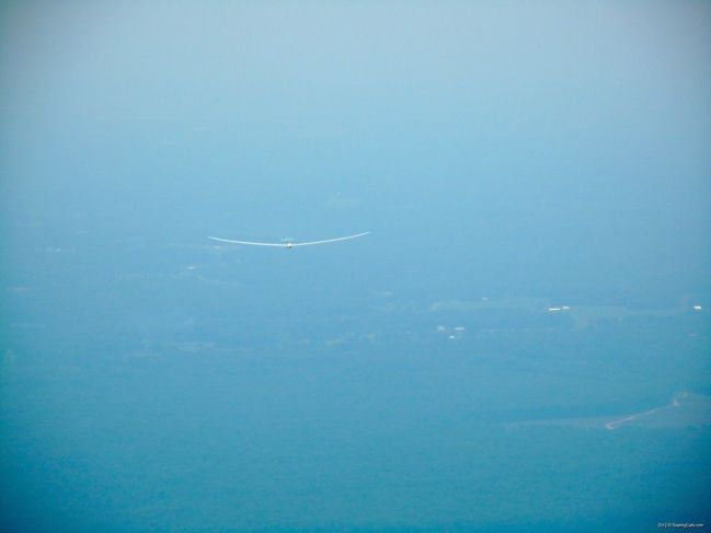2012-05-25 - Concordia First Flight - Shot from tow plane