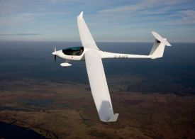 Stemme's S6 in flight