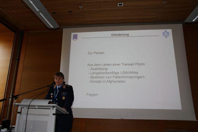 Transall-Captain Jasmin Kirsch
