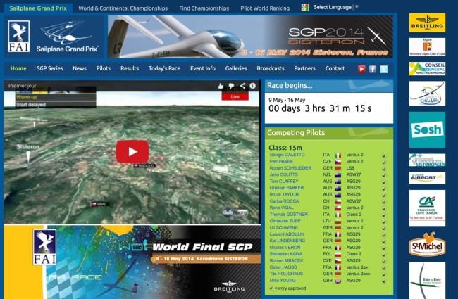 2014 FAI Grand Prix Website