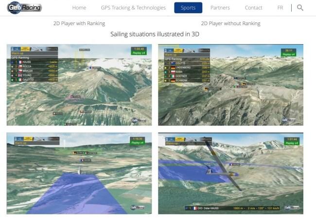 GeoRacing 3D Screens