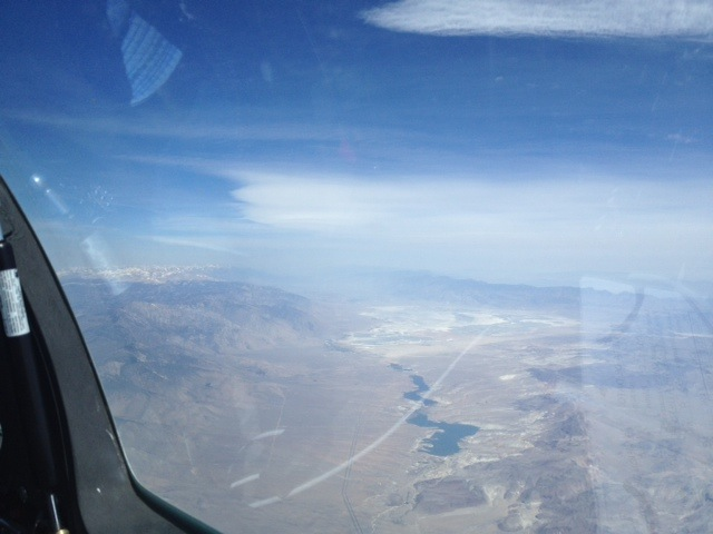 2014-05-04 - JP and DT made turn south of Lone Pine in weak wave
