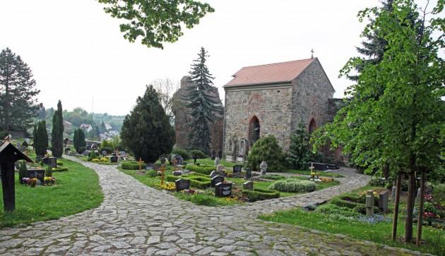 semetary in the ancient city named Bautzen