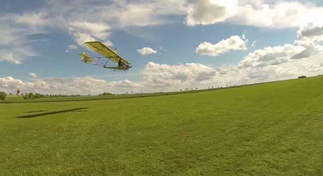 Primary Glider Landing