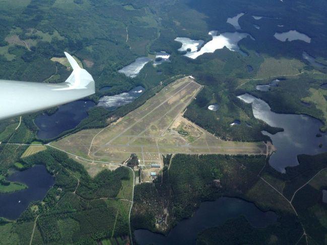 Räyskälä's airfield