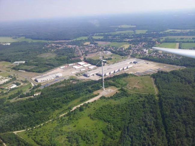 Vestas Rotorblade Factory in Lauchhammer