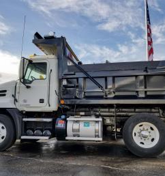 used 2012 mack pinnacle cxu612 dump truck 530695  [ 1920 x 1440 Pixel ]