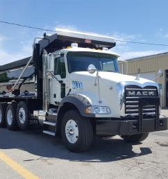 used 2016 mack gu813 dump truck 556636 [ 1920 x 1080 Pixel ]