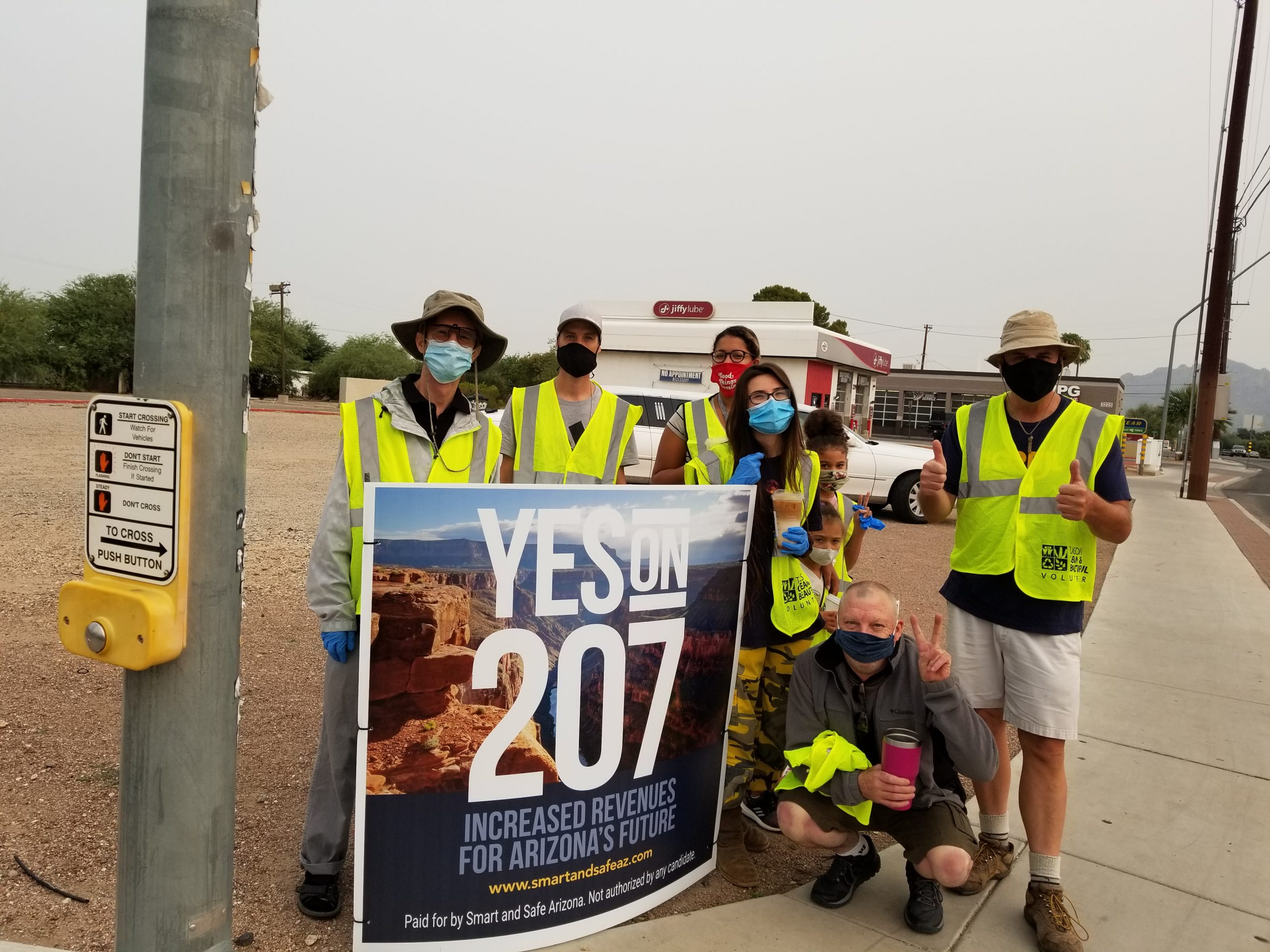 picture to promote southern arizona norml highway cleaning