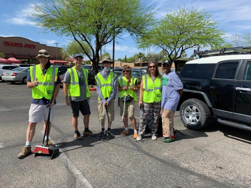 southern arizona norml april highway cleaning