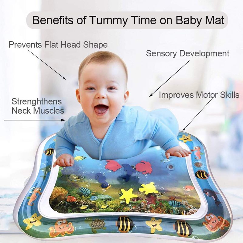 TUMMY TIME WATER PLAY MAT - Latest Baby & Kids Products