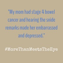 cancer invisible disabilities more than meets the eye