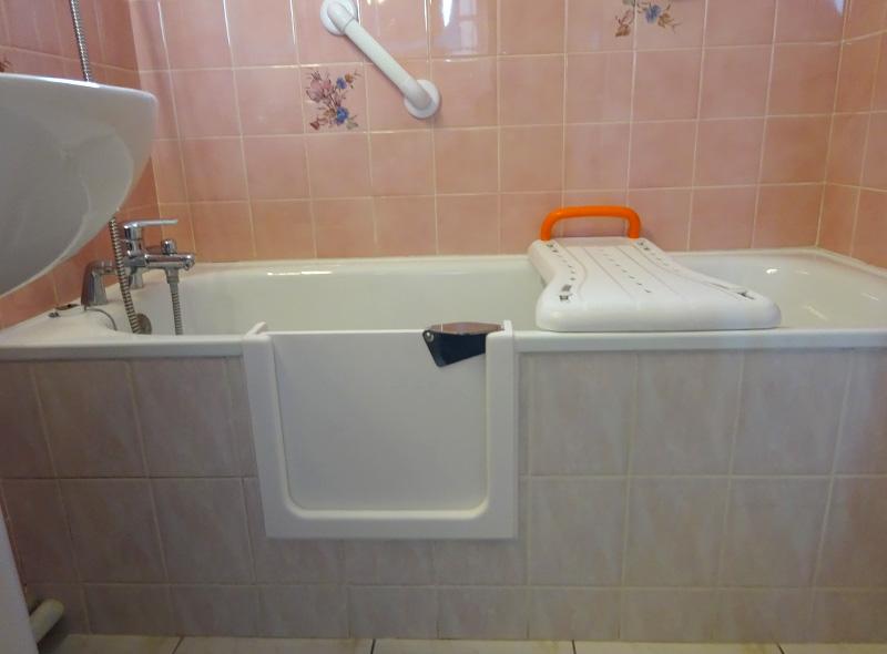 ouverture de baignoire reparation et