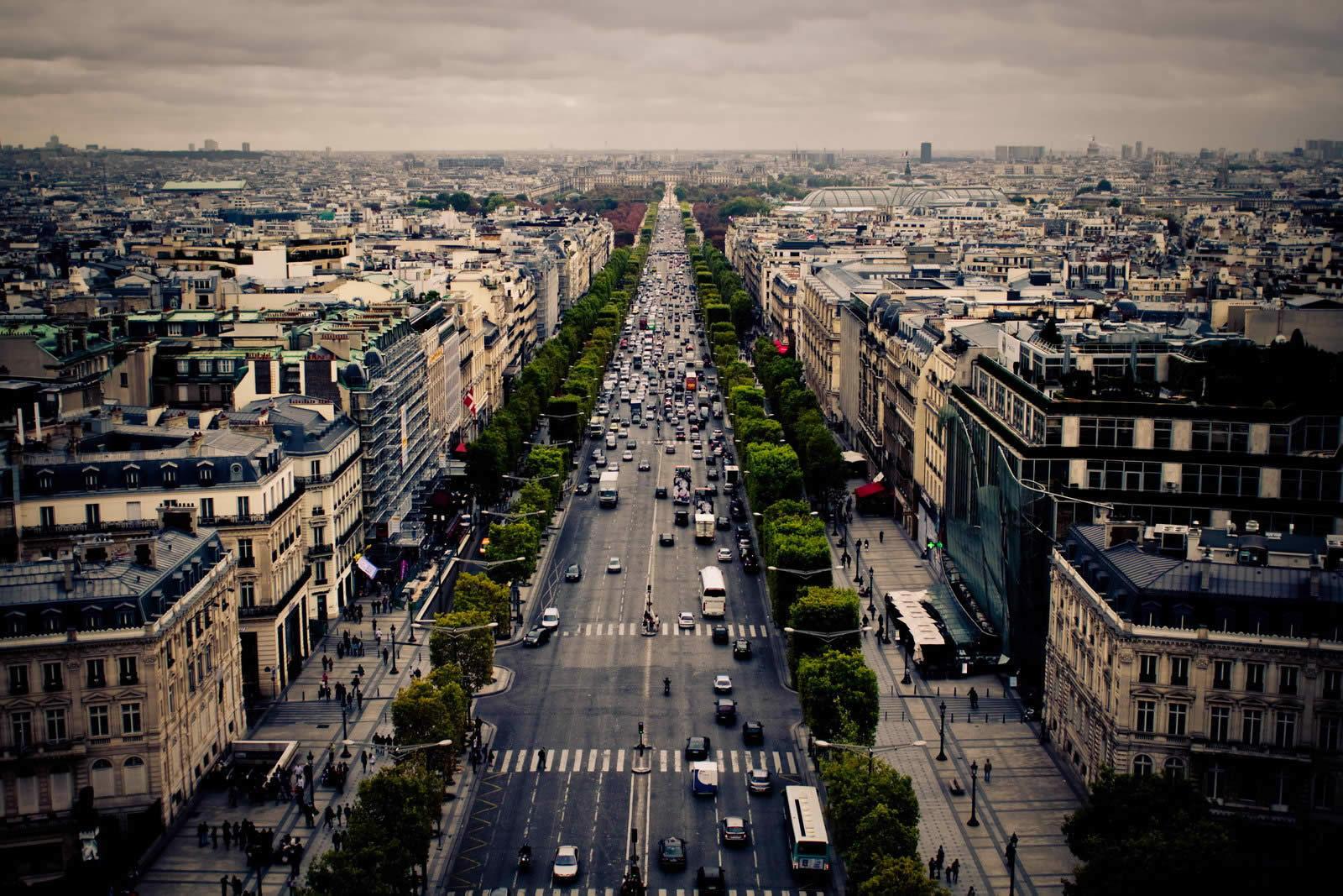 Dcouvrir les belles avenues de Paris  ChampsElyses Avenue de lOpra Avenue Foch