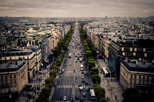 Discover Beautiful Avenues Of Paris Champs-elysees Avenue De L'opera Foch
