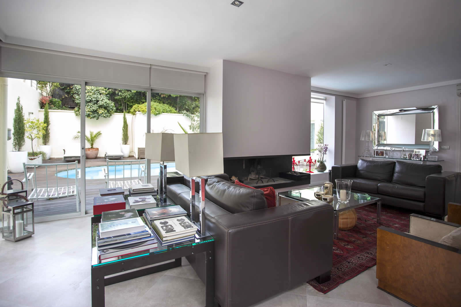Spacious House with Large Kitchen Garden and Pool for sale in Madrid Spain