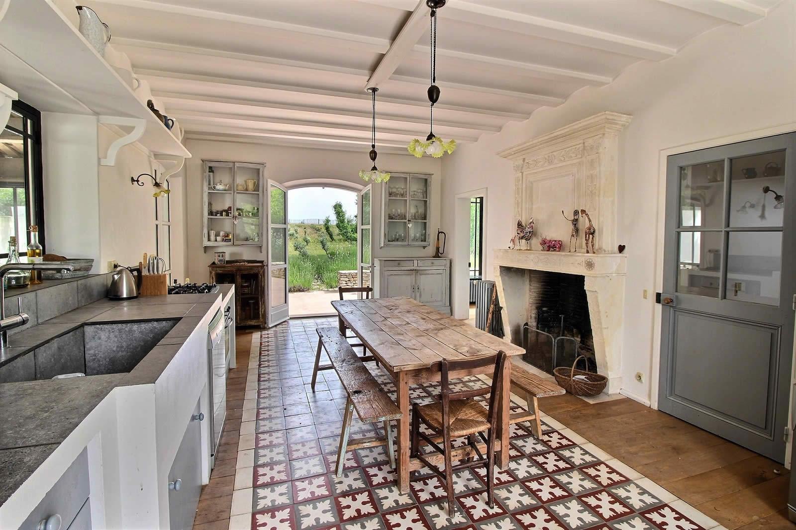 table en bois cuisine