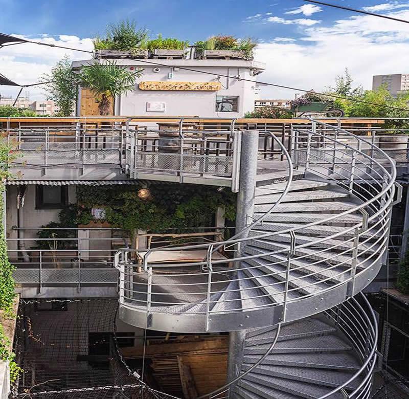 Le Perchoir Paris  Restaurant et Bar Rooftop dans le 11e arrondissement