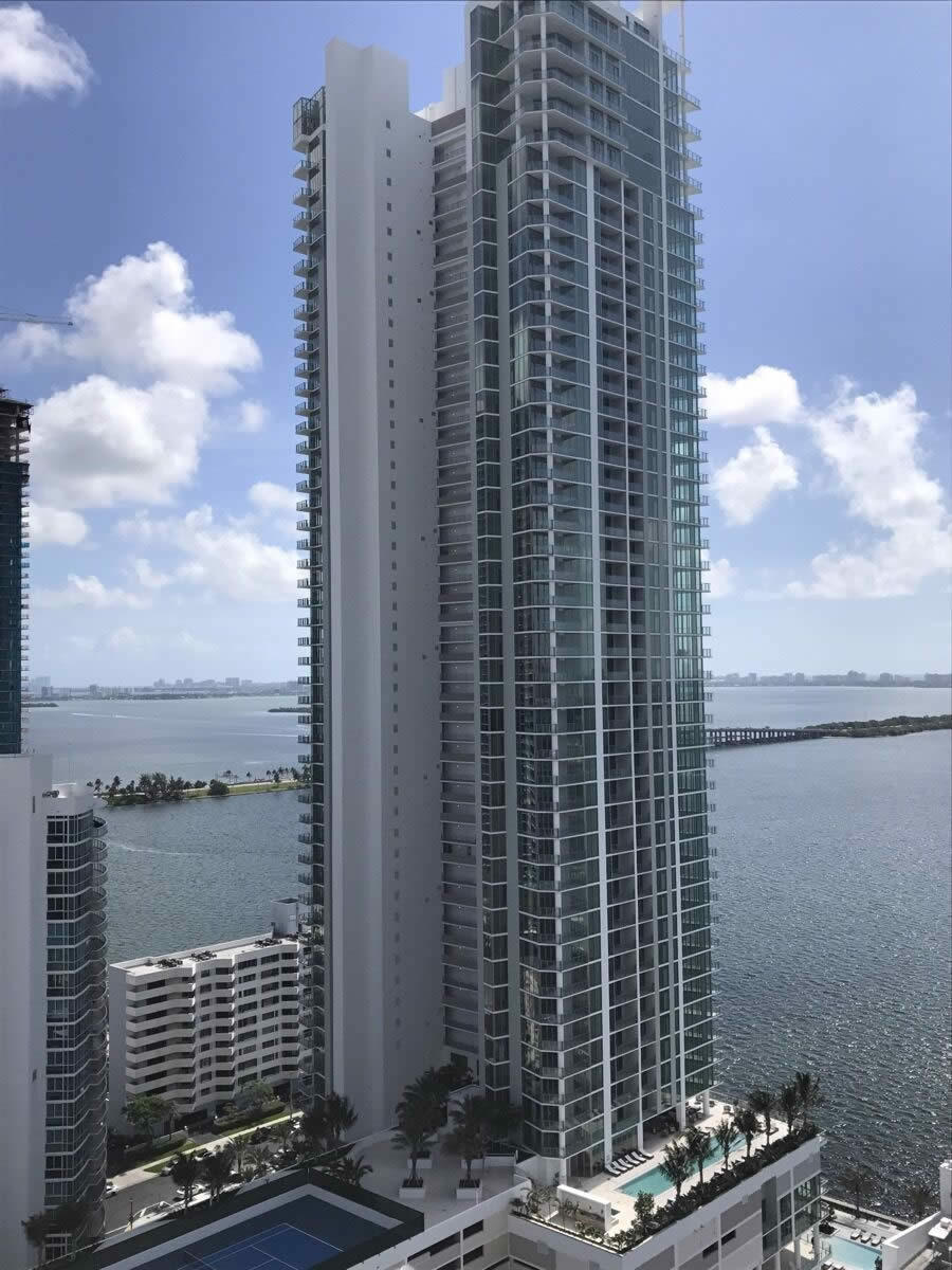 Apartment for sale in Edgewater Miami Upscale Building Private Elevator Sea and City Views