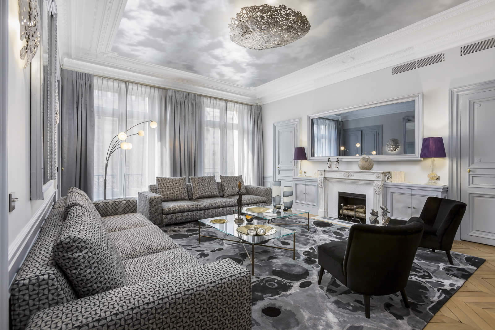 Virtual Living Room Setup