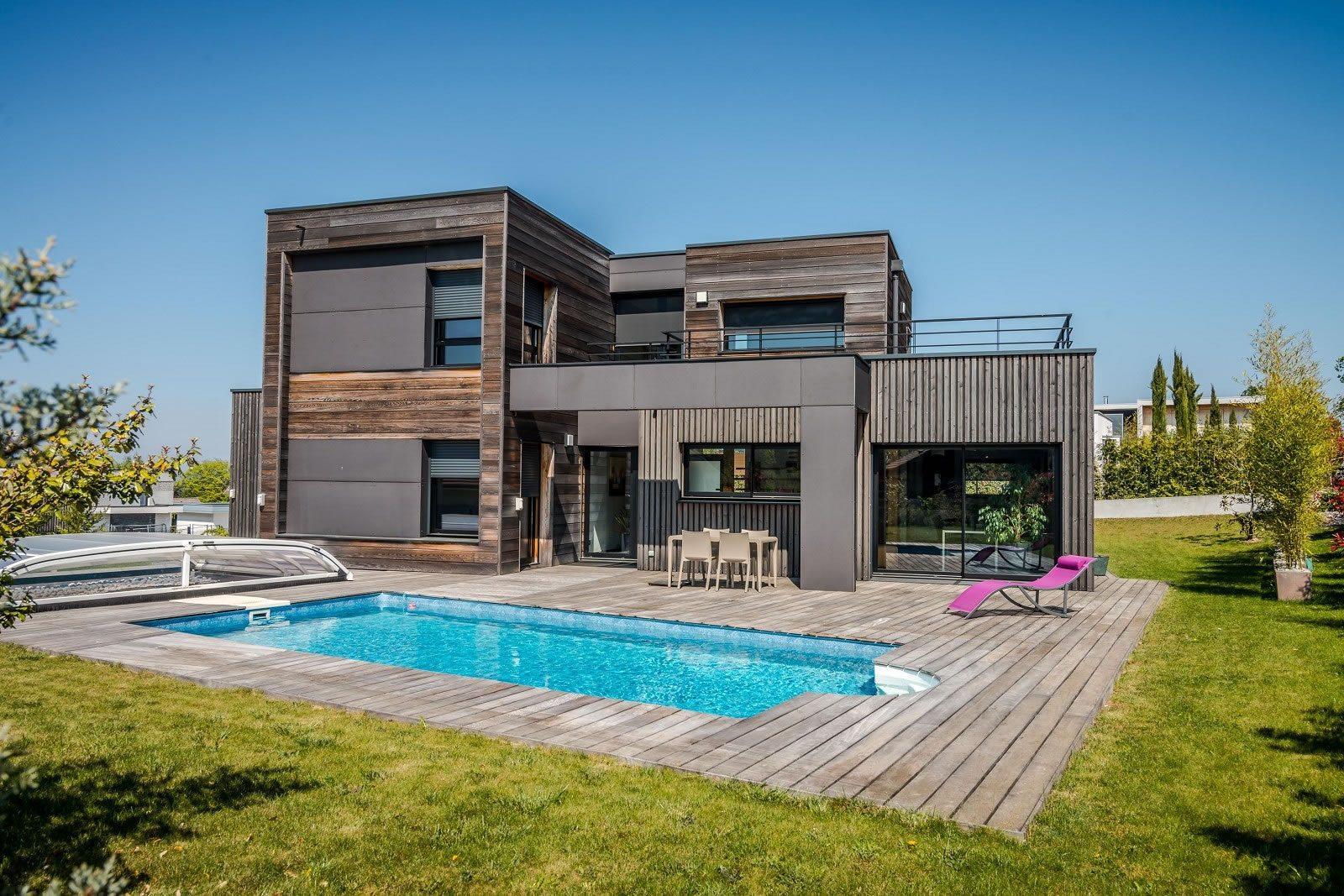 Villa Darchitecte Avec Piscine Vendre Thonon Les