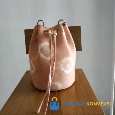 Sample Tas Serut Motif Jumputan