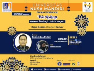 Workshop Universitas Nusa Mandiri Cengkareng