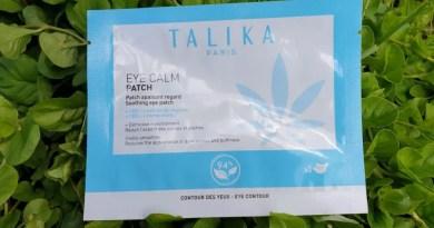 Les patchs pour les yeux au CBD de Talika