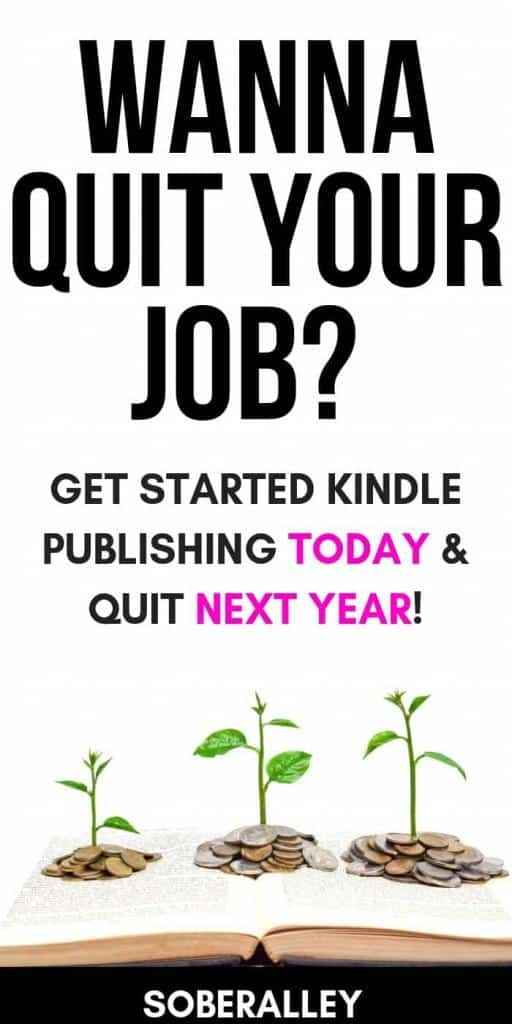 Self publishing books is the best way to make money online! It's one of the best passive income ideas around. If you're ready to quit your job and make extra money online, you can't beat digital book publishing. Money money money raining down everywhere!