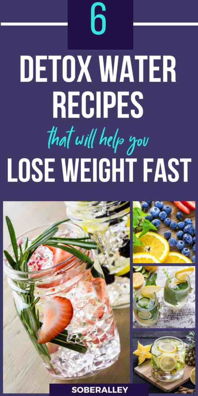 Discover the BEST detox water recipes to help you lose weight, burn fat, speed your metabolism and cleanse your body. These are the tastiest, healthiest flat tummy detox water recipes you can find!
