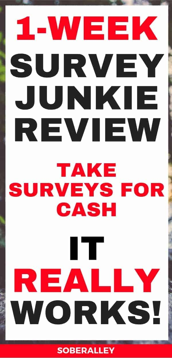 Paid online surveys are the best ways to make money online! Did you know you can get paid to take surveys? Survey Junkie is one of the BEST surveys to make money out of all the online surveys that pay. Here is my official 1-week Survey Junkie review!