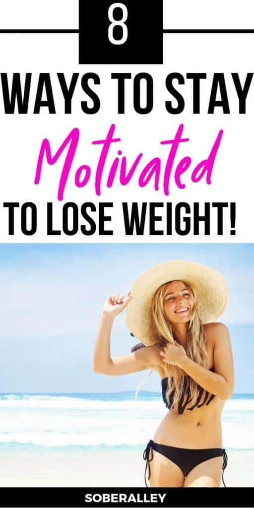 Need weight loss motivation? These 8 weight loss tips are sure to help you stay motivated to lose weight fast, even if you're a lazy girl and don't have time for workout exercises or staying in the gym or eating clean and healthy all the time!