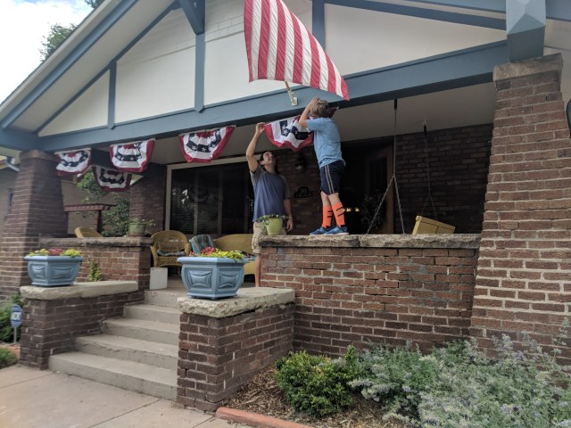 Decorating for Independence Day